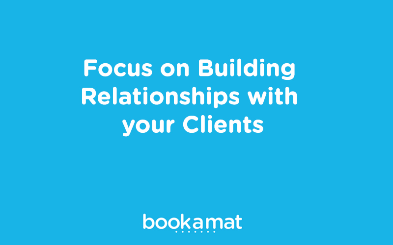 Boost studio clientele by focusing on building relationships.